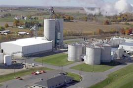 Construcción de planta de etanol