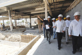 Supervisa Eugenio Hernández avance de Hospital de Alta Especialidad