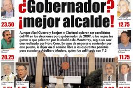 Abel y Benjamín serían alcaldes de Monterrey