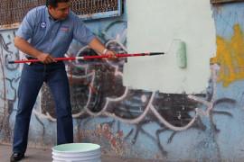 ¿Vigilancia mata graffiti? Es lo que piensa Barrios