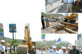 Arrancan segunda etapa del sistema vial Leones-Rangel Frías