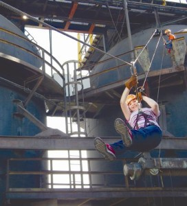 Un viaje por el aire: Canopy en Horno 3