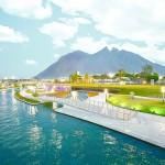:: El Paseo Santa Lucía es símbolo del Monterrey actual, moderno y de primer mundo.