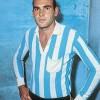 :: En sus inicios, con la camiseta de Racing de Avellaneda, su primer equipo profesional antes de su exitoso arribo al futbol mexicano.