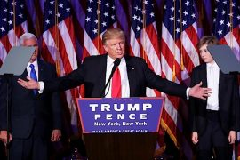 'No los voy a decepcionar'-Donald Trump