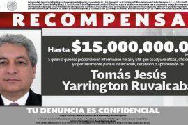 Ofrece PGR 15 millones para encontrar a Tomás