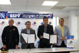Firma Santa Catarina convenio para establecer extensión de Universidad de Ciencias de la Seguridad en el municipio