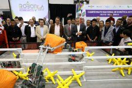 Recibe gobernador a los participantes  en Campeonato Nacional de Robótica