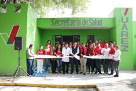 Inauguran décimo consultorio médico gratuito en Juárez
