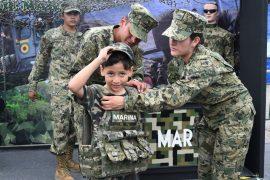 Expo acerca al Ejército a ciudadanos de Monterrey
