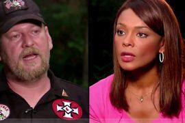 Ilia Calderón, la periodista amenazada por líder del KKK durante entrevista