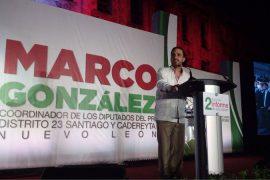 Se compromete Marco González a impedir aumento de impuestos estatales