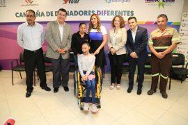 Anuncian campaña para apoyar a niños y adultos con parálisis cerebral