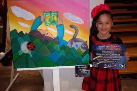 Niños pintan sus sueños