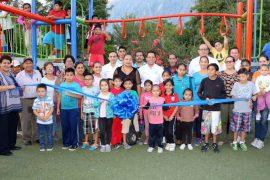 Activa Santa Catarina espacio público en sector Santa Magdalena para fomentar la unión familiar