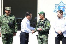Entrega Santa Catarina Segundo Cuartel de Policía Militar en Fama III para proteger patrimonio e integridad de vecinos