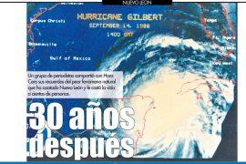 Recuerdos del 'huracán asesino'