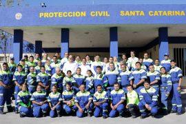 Inaugura Santa Catarina nuevas instalaciones de Protección Civil