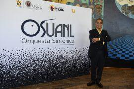 'Entre una orquesta y su director debe haber una relación de amor': Eduardo Díazmuñoz