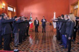 Rinden protesta representantes obrero-patronales de la Junta de Conciliación