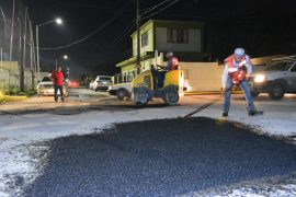 Arranque municipio de Juárez con mega operativo de bacheo